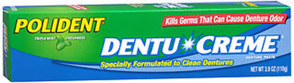 Polident Dentu-Creme Denture Cleaner - 3.9 oz