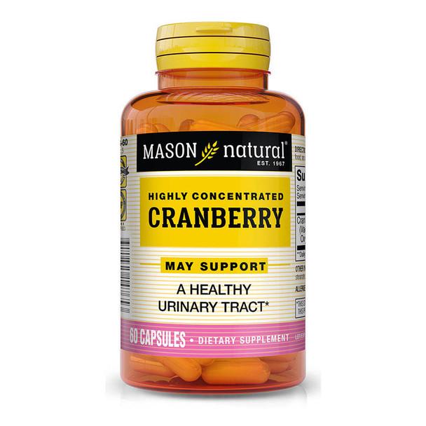 Mason Vitamins Natural Cranberry Capsules - 60ct