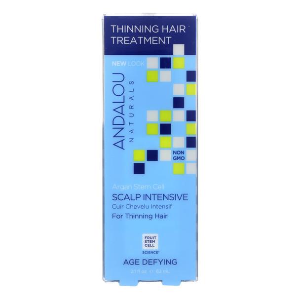 Andalou Naturals Age Defying Scalp Intensive With Argan Stem Cells - 2.1 Fl Oz