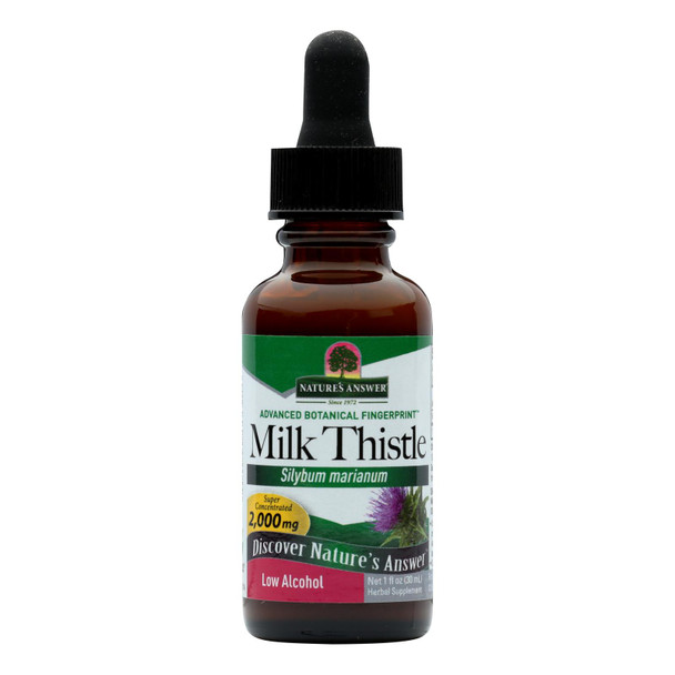 Nature's Answer Milk Thistle Seed - 1 Fl Oz
