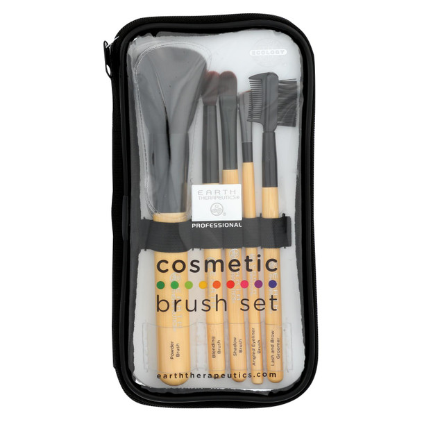 Earth Therapeutics Cosmetic Brush Set - 1 Set