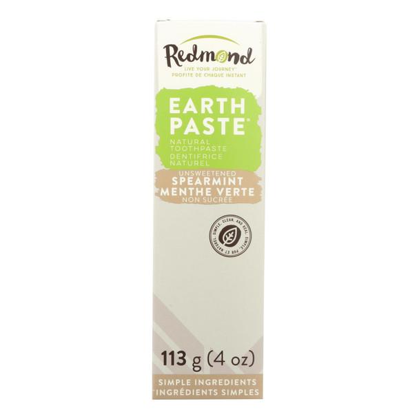 Redmond Trading Company Earthpaste - Spearmint - 4 Oz