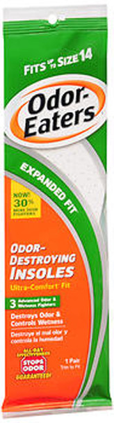 Odor-Eaters Ultra-Comfort Insoles Expanded Fit