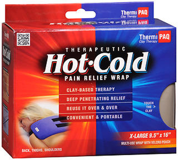 ThermiPaq Therapeutic Hot-Cold Pain Relief Wrap X-Large
