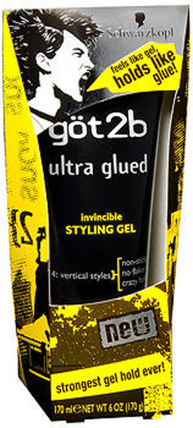 got2b Ultra Glued Invincible Styling Gel - 6 oz