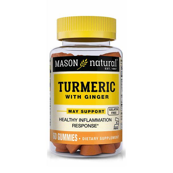 Mason Natural Turmeric 270MG Gummies - 60 ct