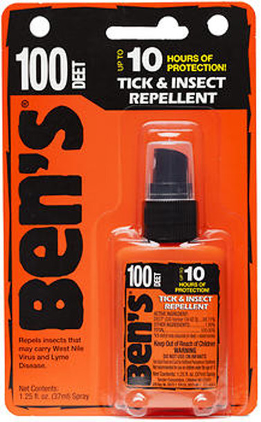 Ben's 100% Deet Pump - 1.25 oz
