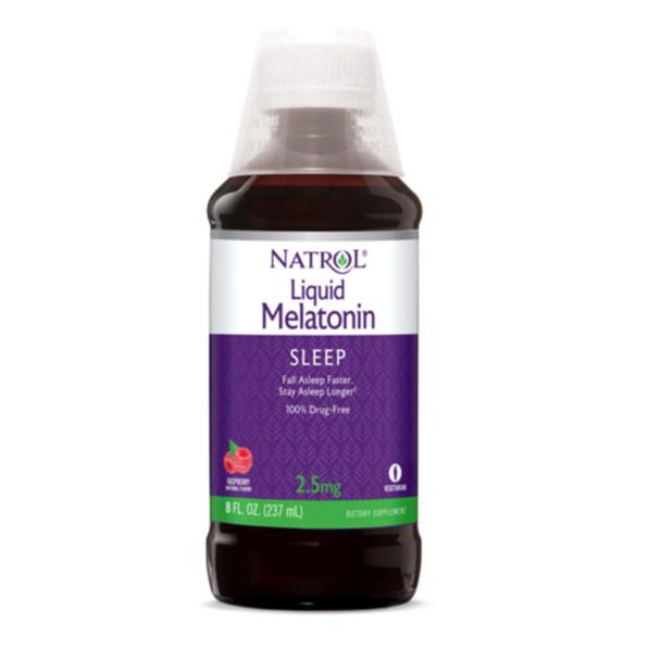 Natrol Melatonin 2.5 mg Liquid - 8 oz