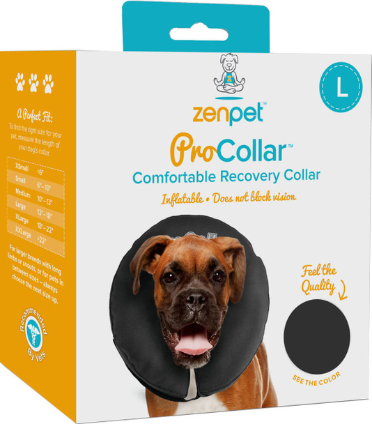 Cs Tech Us Recovery Collar Assorted Large