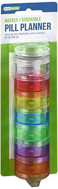 Ezy Dose 7-Day Stackable Pill Reminder 67449 - 1 ea.