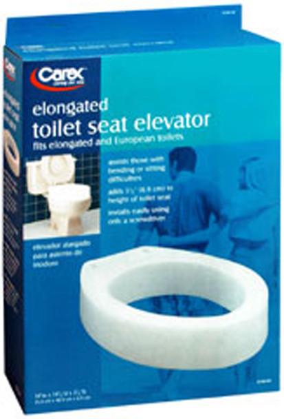Carex Toilet Seat Elevator, Elongated