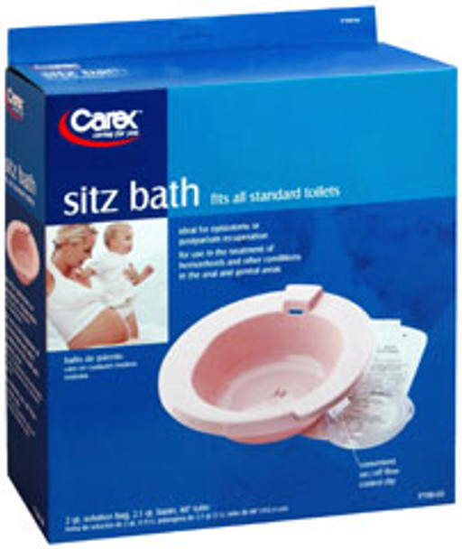 Carex Sitz Bath for Standard Toilets
