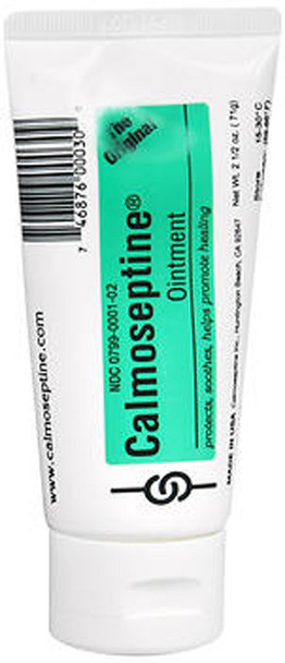 Calmoseptine Moisture Barrier Ointment - 2.5 oz