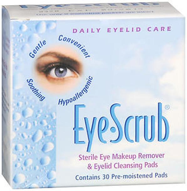 Eye-Scrub Pre-Moistened Pads - 30 ct