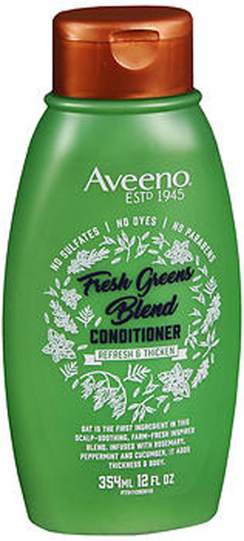 Aveeno Scalp Soothing Fresh Greens Blend Conditioner for Volume, Thickness & Refresh  - 12 oz