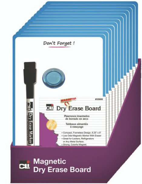 """Don't Forget"" Dry Erase Board - Magnetic, Mini, 6.25x9"""
