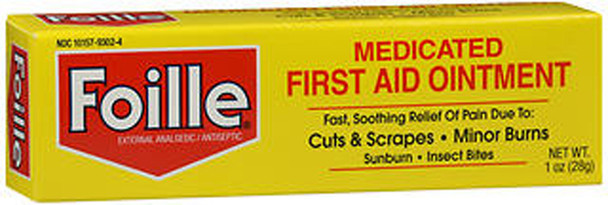 Foille Medicated First Aid Ointment - 1 oz