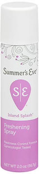 Summer's Eve Feminine Deodorant Spray Island Splash - 2 oz
