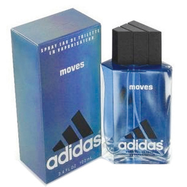 Adidas Moves Toilette Spray Men's, 1oz
