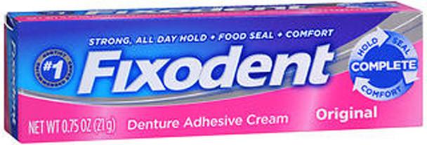 Fixodent Denture Adhesive Cream Original - 0.75 oz