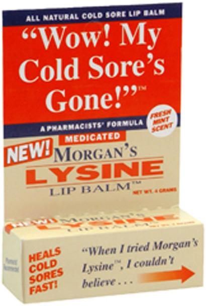 Morgan's Lysine Lip Balm Medicated - 0.17 oz