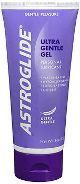 Astroglide Ultra Gentle Gel Personal Lubricant Sensitive Skin - 3oz