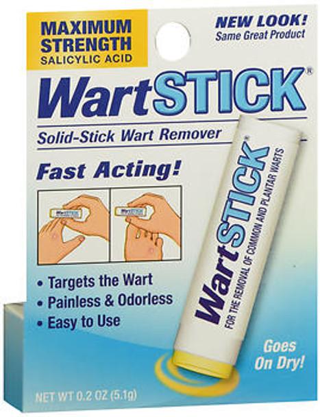 Wart Stick Solid-Stick Wart Remover Maximum Strength - 0.02 oz