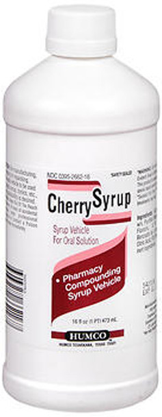 Humco Cherry Compounding Syrup - 16oz
