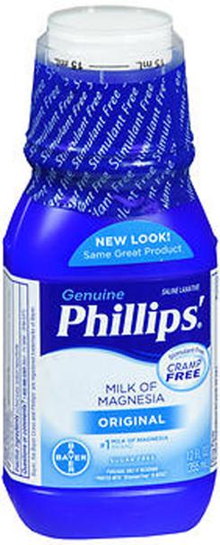 Phillips Milk of Magnesia, Original  12 fl oz