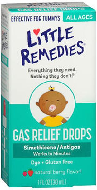 Little Tummy's Gas Relief Drops Natural Berry Flavor - 1 oz
