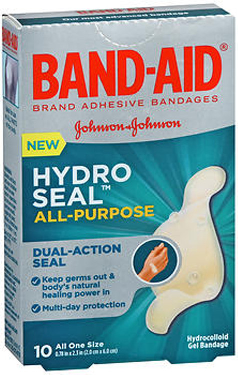 Band Aid Hydro Seal All Purpose Hydrocolloid Gel Bandages