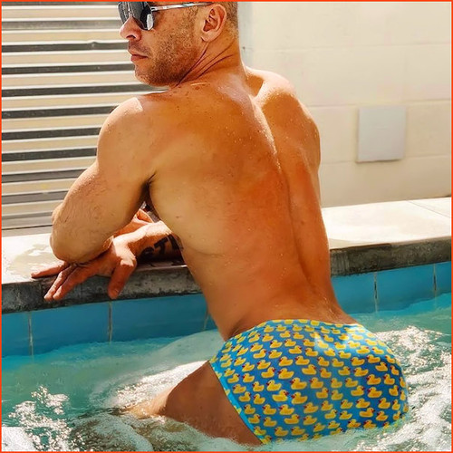 Jack Adams Ducky Swim Brief... Quack, Quack!