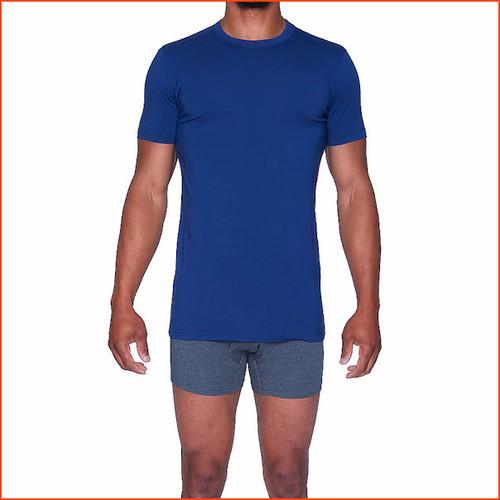Wood Short Sleevve Crew T Shirt Soft