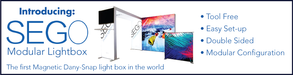 SEGO Modular Light Box Displays