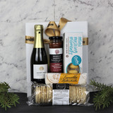Wine and Nibbles for One Gift Basket