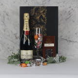 Moet - Champagne Glasses - Chocolate