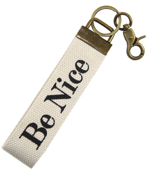 Be Nice Wrist Key Fob