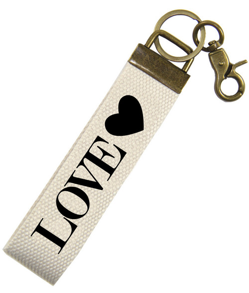 Love wrist key fob by Jules Products