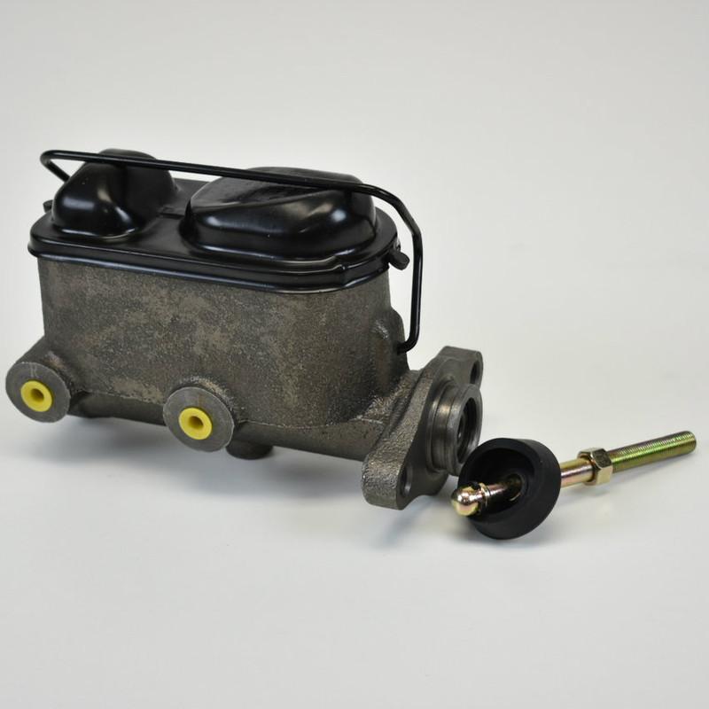 Dual feed master cylinder