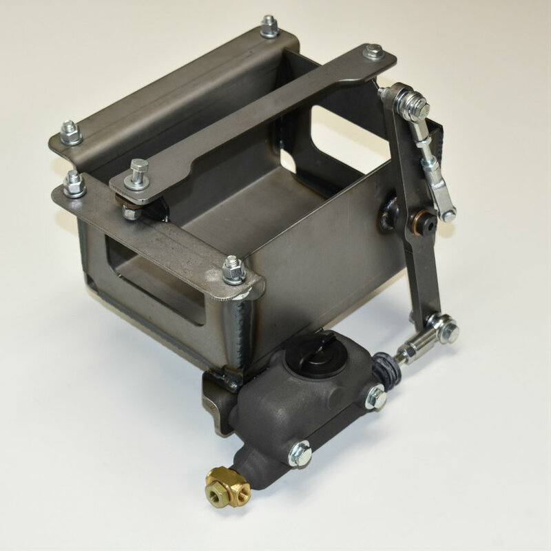 Model A master cylinder/battery box assembly
