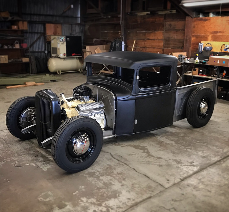 1932-1934 pickup frame
