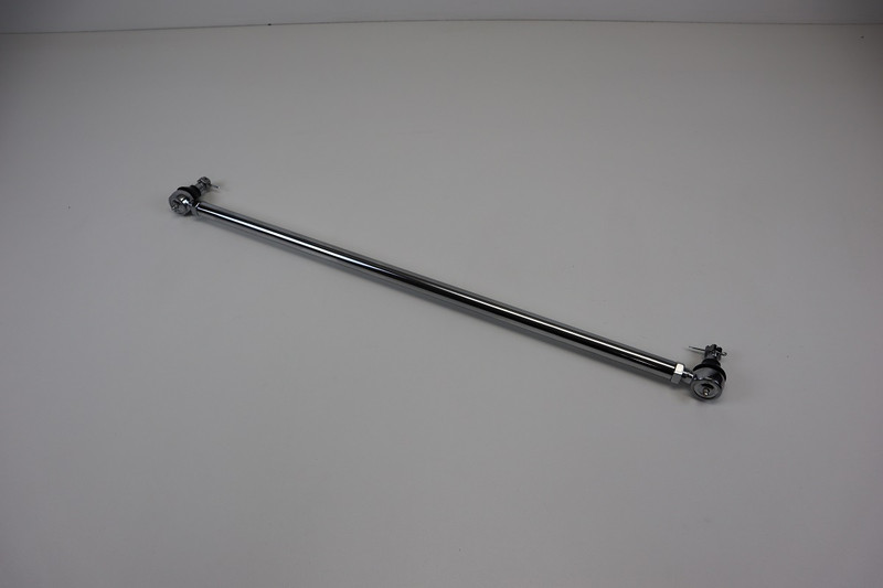 Tie Rod/Drag Link Assembly, Chrome, 45""