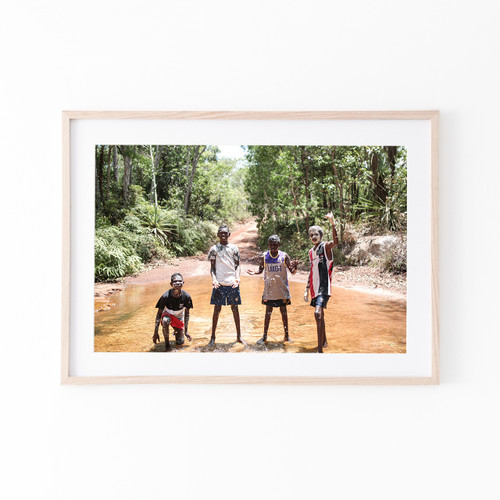 """""""Tradition""""- A2 Print Saints In Tiwi"""
