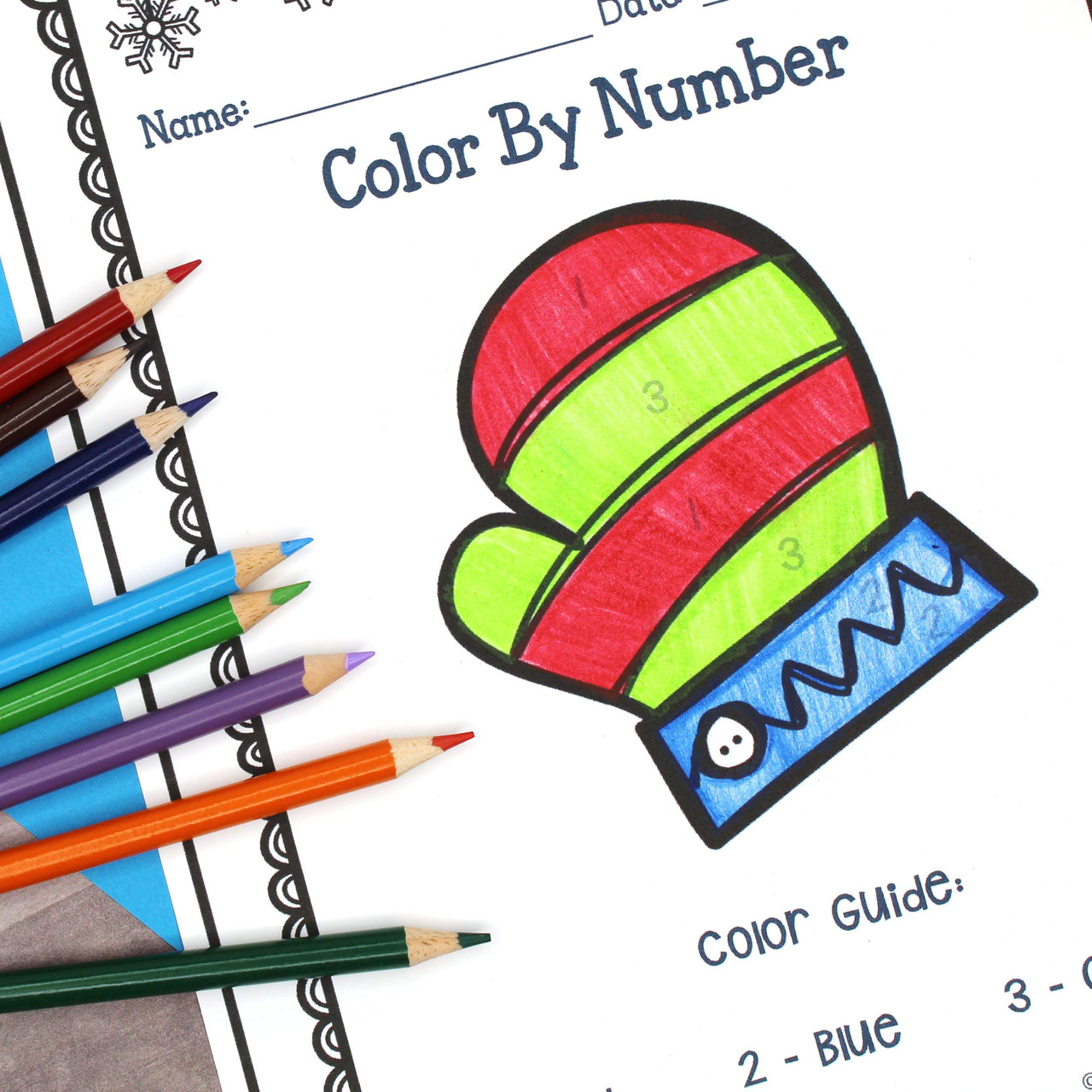 Winter Math and Liturature
