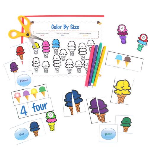 Ice Cream Themed Pack