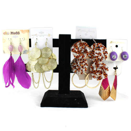 (700) Large Size Wholesale Assorted Ladies Dangling Earrings Jewelries