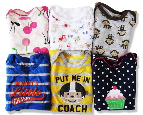 (72) Newborn Infant Baby Wholesale Bodysuit Onesie Children Clothing