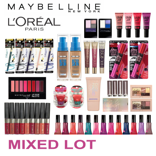 (100) Wholesale Closeout Liquidation Makeup Cosmetics