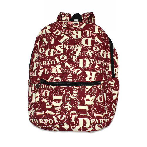 (30) Unisex Teen Casual Canvas Backpacks with Assorted Style