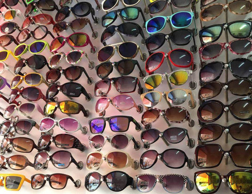 (160) Men & Women PVC Fashion Sunglasses With Assorted Style
